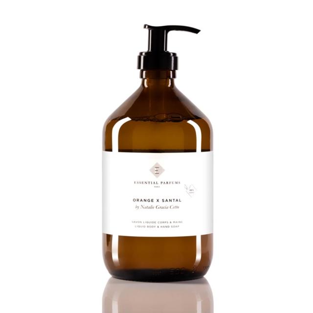 Orange X Santal - 500 ML - 16.9 Fl Oz - Liquid body & hand soap
