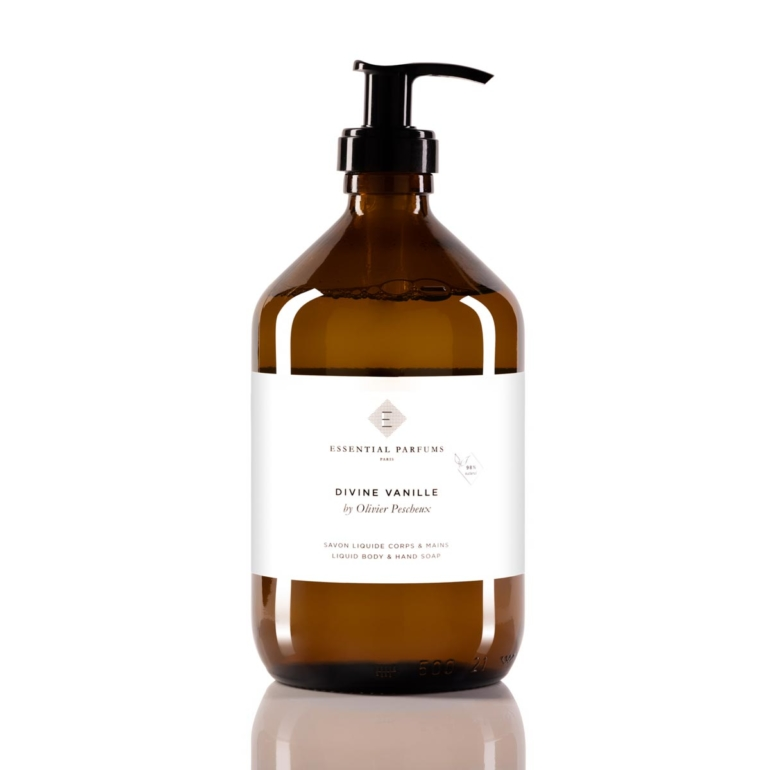 Savon liquide Essential Parfums Divine Vanille