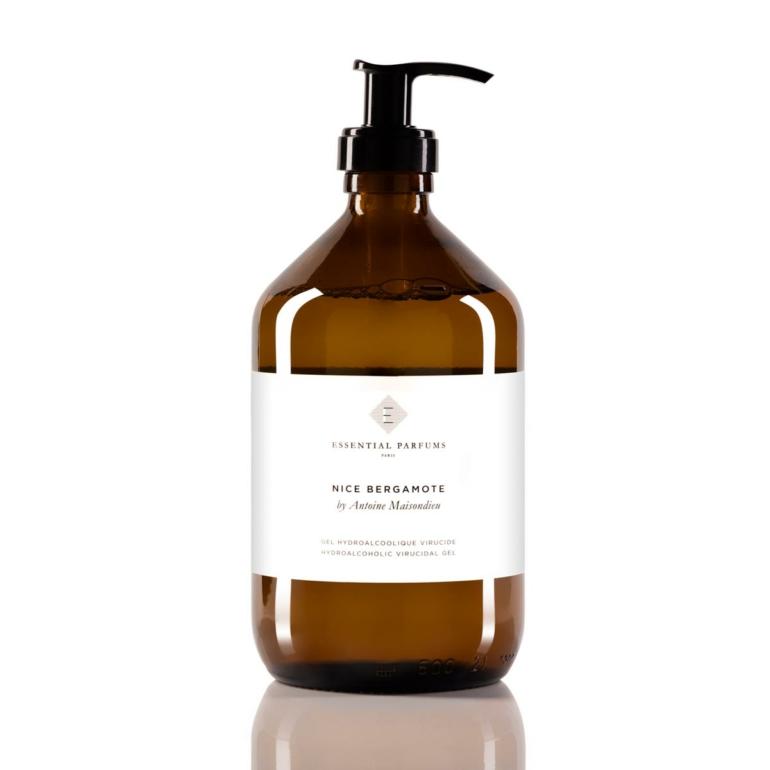 gel-hydroalcoolique Essential Parfums -NICE-BERGAMOTE