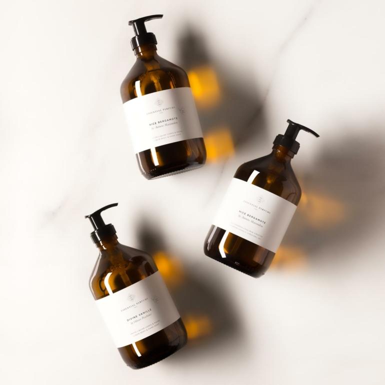 Savons liquide Essential Parfums